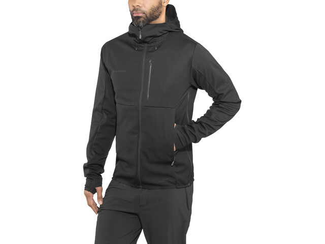 Online bestellen Großhandelspreis begehrteste Mode Mammut Ultimate V SO Hooded Jacket Men black-black